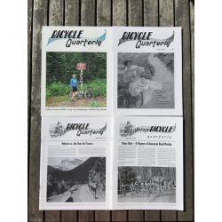 Bicycle Quarterly 4-Pack / Technologie des vélos classiques
