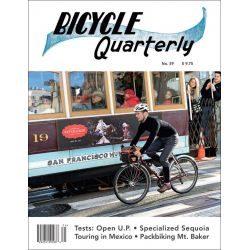 Bicycle Quarterly printemps 2017