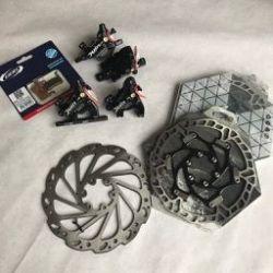 Kit freins à disques mécaniques / hybrides 2-11Cycles