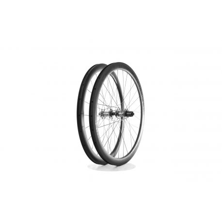 Roues complètes Tune Schwarzbrenner 45 Disc 2.0 700c