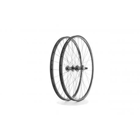 Roues complètes Tune Crosser Endurance carbon Disc 700c