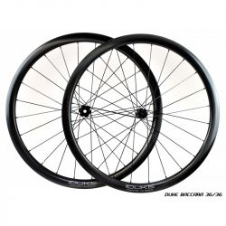 Roues complètes Duke/2-11Cycles Baccara SLS2 Disc 700c