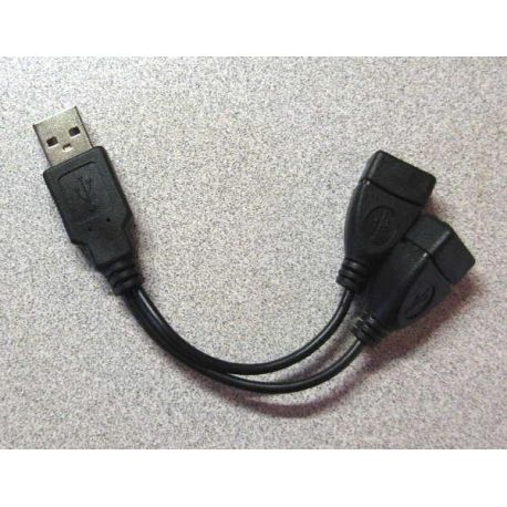 Câble USB double Sinewave