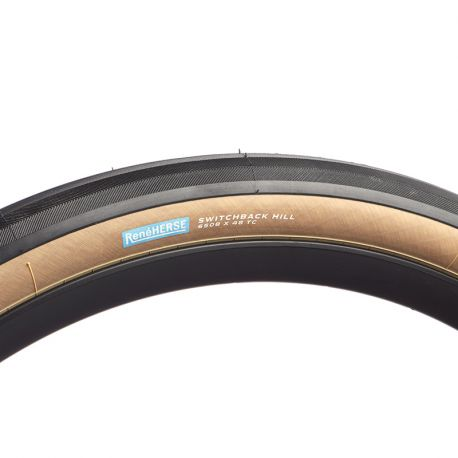 "Pneu Switchback Hill 650bx48 standard flancs ""tan"""