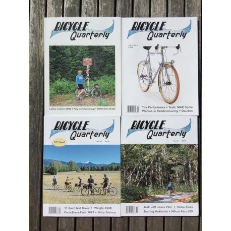 Bicycle Quarterly 4-Pack / Nos meilleurs essais de vélos