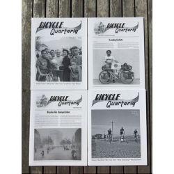 Bicycle Quarterly 4-Pack / Géométrie et comportement