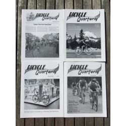 "Bicycle Quarterly 4-Pack / Rigidité des cadres et ""planning"""
