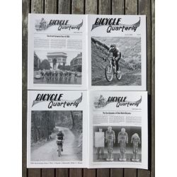 Bicycle Quarterly 4-Pack / Performance générale
