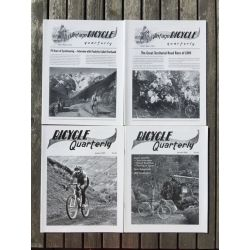 Bicycle Quarterly 4-Pack / Les plus belles interviews