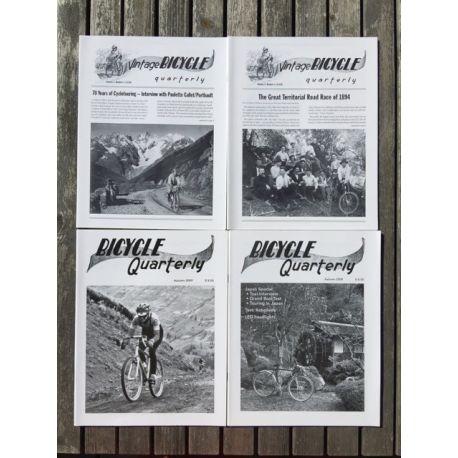 Bicycle Quarterly 4-Pack / Les plus belles interviews
