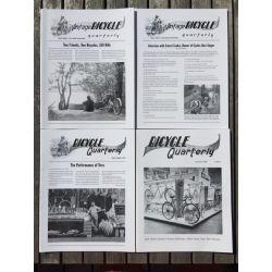 Bicycle Quarterly 4-Pack / Les cadreurs classiques 1