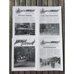 Bicycle Quarterly 4-Pack / Cadreurs américains