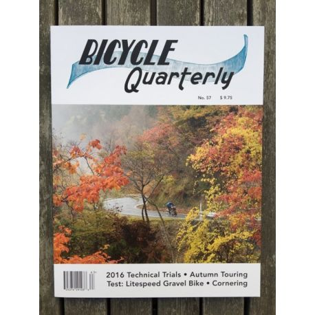 Bicycle Quarterly Automne 2016