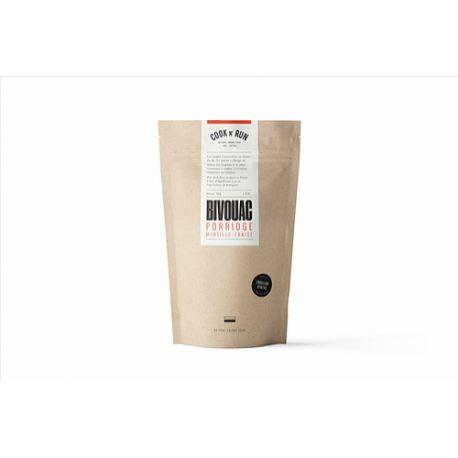 Plat Lyophilisé - COOK N' RUN - Porridge Myrtilles/Fraises