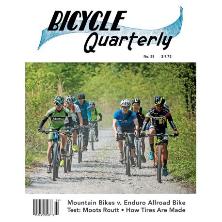 Bicycle Quarterly 4-Pack / Vélos en titane
