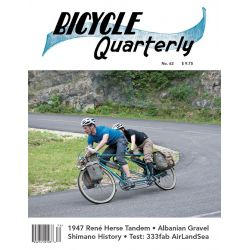 Bicycle Quarterly Winter 2017