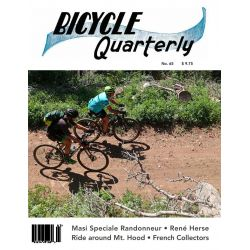 Bicycle Quarterly Automne 2018