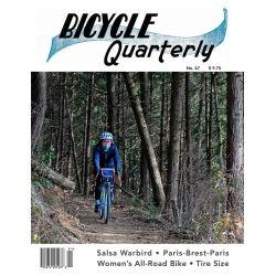 Bicycle Quarterly printemps 2019